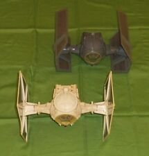 vintage Star Wars TIE FIGHTER & DARTH VADER TIE FIGHTER vehicle lot