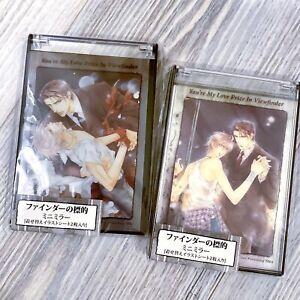 RARE Finder Series Ayano Yamane Compact Mirror Asami Akihiko Yaoi BL Viewfinder