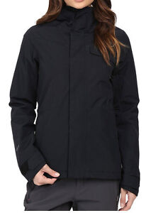 Volcom Bow Womens Gore-Tex Insulated Snowboard Snow Ski Jacket Black Small