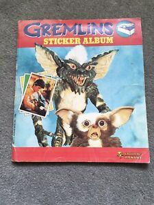 GREMLINS 1984 PANINI STICKER ALBUM (180/180 COMPLETE)