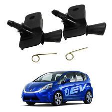 Windshield Water Washer Nozzle Jet Stream Fit Honda Fit Ev Electric 2011 - 2013