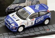 1/43 FORD FOCUS RS WRC ANDREUCCI RALLY SAN MARINO 2001 IXO EAGLEMOSS DIECAST