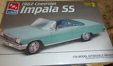 AMT 1962 CHEVY IMPALA CONVERTIBLE 409 SS Model Car Mountain FS