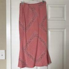 Xoxo Paisley Festival Print Midi Skirt Size Small