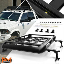 "50""X 38""Aluminum Roof Rack Adjustable Van/SUV Top Crossbar Baggage Cargo Carrier"