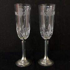 2 x Mullingar Pewter Champagne Glasses #454