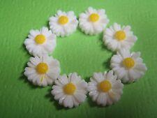 Kawaii Mini Sweet Hippie Daisy Flower Earrings Flatbacks / Charms / Cabochons