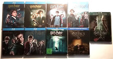 Lot Blu-ray Steelbook : Intégrale HARRY POTTER + ANIMAUX FANTASTIQUES