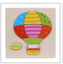 1 PCS Wooden Puzzle Educational Toys for Boys & Girls Ages 3+ in Baloon