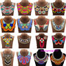 Boho Choker Ethnic Tassel Pendant Bohemian Statement Necklace Tribal Collar New
