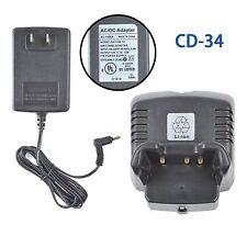 NEW Battery Charger for Vertex Standard FNB-V104L FNB-V96L VX354 Two Way Radio