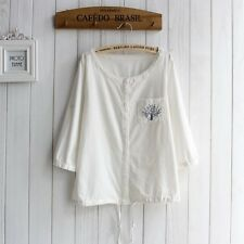 🎀 Brand New Japan Mori Style Button Cute Cardigan Shirt Blouse Top XS