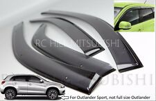 2014 2015 GENUINE MITSUBISHI OUTLANDER SPORT DOOR VENT WINDOW VISORS MZ562868EX
