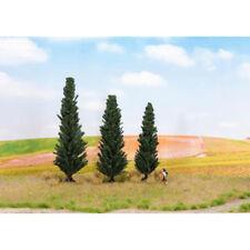 NOCH Cypress (3) Profi Trees 10/11/13cm HO Gauge Scenics 21998
