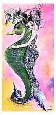 Peacock Mermaid Hugs Seahorse Quilt Block Multi Szs FrEE ShiPPinG WoRld WiDE