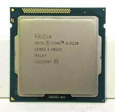 Intel Core i3-3220 3.30GHz SR0RG CPU Processor Dual Core Quad Thread EB2102