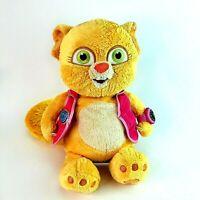 "Rare Disney Store Special Agent Oso 16"" Soft Plush Cuddly Toy Dotty Dotti Cat"