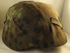 Wehrmacht Elite  Helm Tarnbezug erbsentarn Ostfront Westfront Normandie NEU