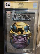 THANOS #13 CGC SS 9.6 SIGNED DONNY CATES 1:10 VARIANT 1ST COSMIC GHOST RIDER