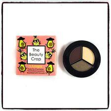 THE BEAUTY CROP Eyeshadow Trio COCO LOCO 3 Amigos 3g Vegan BOXED - FREE POSTAGE