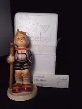 """Vintage Goebel M.I. Hummel - """"LITTLE HIKER"""" 16/1 with Box and Label - TMK5"""
