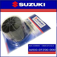 Filtro Olio Originale Suzuki GSR 750 2011 al 2016  16510-07J00-000