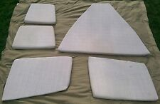 1990 20' Bayliner Capri Cuddy Cabin Cushions-Complete set-Used