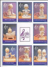 PRECIOUS MOMENTS COMPLETE TRADING CARD T/C SET 16 CARDS w/SPECIAL PAGES 1992