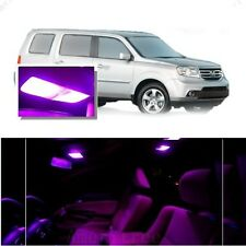 For Honda Pilot 2006-2008 Pink LED Interior Kit + Pink License Light LED