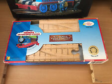 Authentic Wooden Thomas Train Clickety Clack 6 1/2 In Single Curved Switch Track