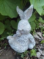 "Latex rabbit mold 5""H x 3""W plaster cement mould"