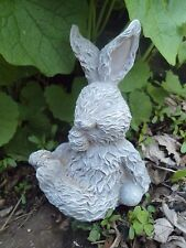 """Latex rabbit mold 5""""H x 3""""W plaster cement mould"""