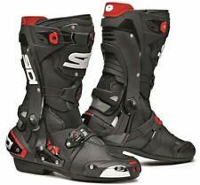 """Sidi """"Rex Air"""" in Schwarz, Größe 41, perforierte Sport Motorradstiefel, boots"""