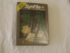 ATARI SOFTWARE Synapse SynFile+ for Atari 48K Diskette with Manual