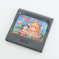 Game Gear WONDER BOY Cartridge Only Sega gg