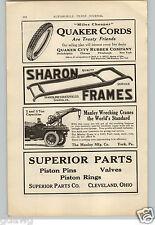 1921 PAPER AD Manley Tow Truck Wrecker Wrecking Crane Car Auto Automobile 5 Ton