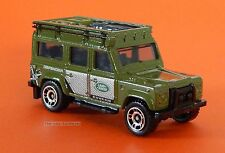 2014 Matchbox Loose 1997 Land Rover Defender 110 Olive Recon Multi Pk Exclusive