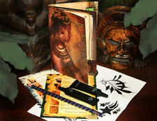 Lg JaguaTemporary Tattoo Starter Kit - All Natural black - No PPD - No Henna tk2