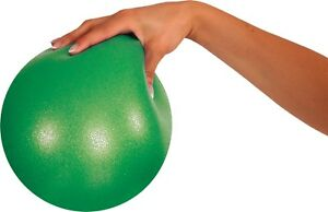 """1x Mambo Max 18cm 7"""" Soft Over Ball Pilates Yoga Physio Gym Physio Abs GREEN NEW"""