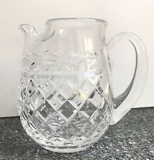 """Waterford """"Glandore"""" Ice Lip Water Pitcher, ~32 ounces, Excellent Condition"""