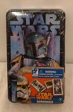 Star Wars Boba Fett Dominos w/Collectible Tin - Disney Lucasfilm Ltd. NEW-SEALED