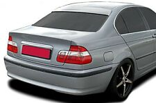 BMW E46 3-Series Euro M Roof Extension Rear Window Cover Spoiler Wing Trim ABS