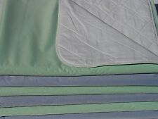 6 PACK NEW BED PADS REUSABLE INCONTINENCE AID WATERPROOF 34x36 HOSPITAL WASHABLE