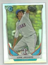 Luke Jackson Texas Rangers 2014 Bowman Refractor