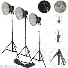 Kit 3 Illuminatore Studio Foto Video Lampada Luce DayLight DynaSun 3x CY25WT 450