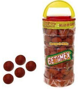 Betamex Tarugo Tamarindo Enchilado Mexican Hot Tamarind Candy Balls 100 Pc 1.5kg