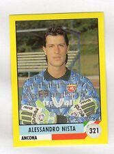 figurina IL GRANDE CALCIO VALLARDI 1992 NUMERO 321 ANCONA NISTA