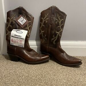 Old West Cow Girl Boots NEW US Size 8/ UK Size 6