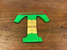Children's painted 6 mm MDF letters T