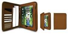 Hipstreet leather executive Playbook case - brown